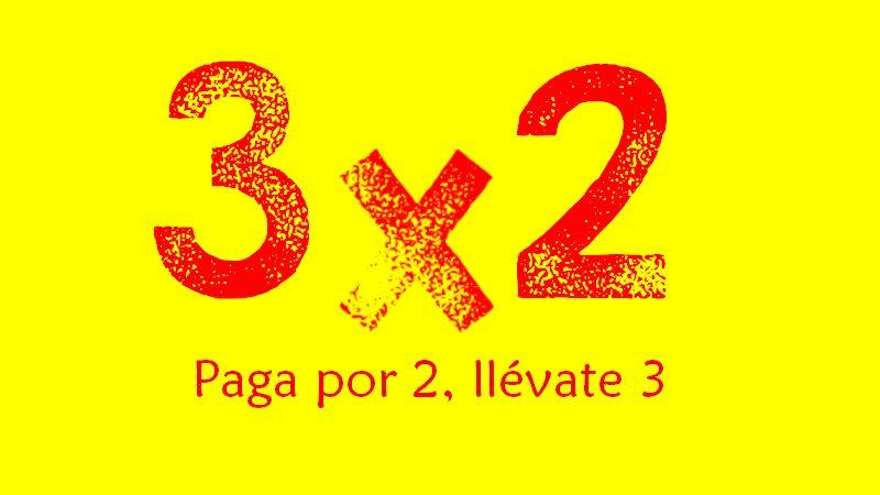 promociones ofertas 3x2