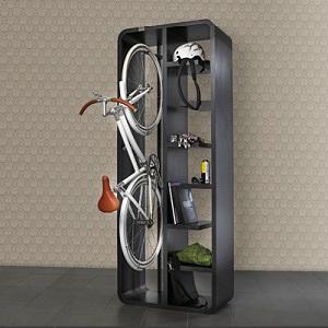 Guardar bicicletas en casa: ya existe una solución práctica