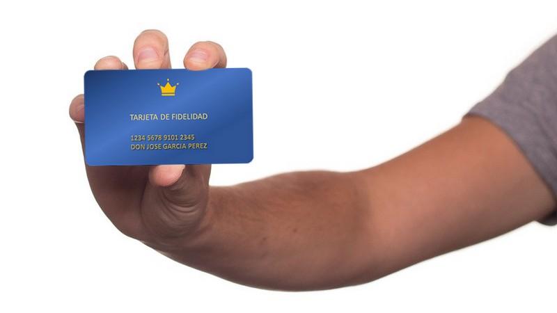 tarjetas de fidelidad
