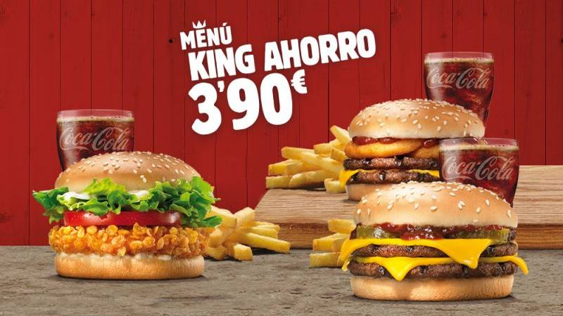 Menu King Ahorro