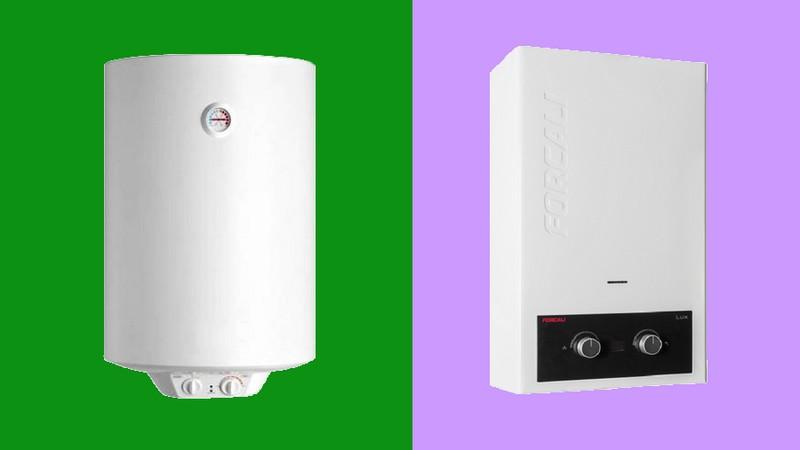 ahorrar calentador eléctrico caldera gas